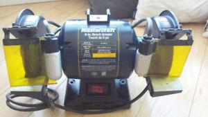 mastercraft bench grinder 55-3584-2