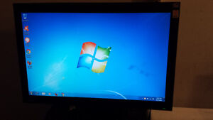 "Used Benq 20"" Wide Screen LCD Computer Monitor for Sale"