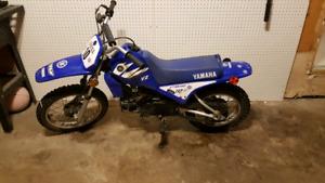 yamaha pw80 two stroke dirt bike