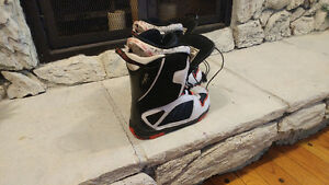 Sims snowboard  boots.     Boys size 6 Prince George British Columbia image 3