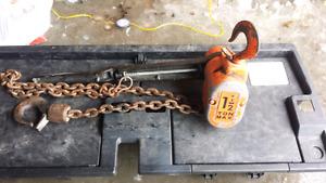 Chain Block H/D 1.5 Tonne