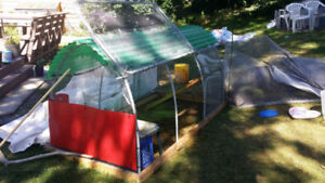 Chicken Tractor coop for sale!