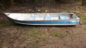 14' Sears Game Fisher Aluminum Boat