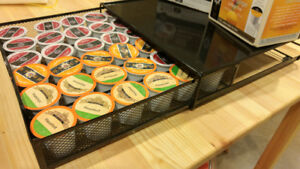 Keurig coffee tray and pods