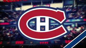 6 billets tickets  canadiens. 11 oct match d'ouverture vs Kings