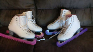 Girls Riedell Pearl Recreational Skates Size 3