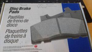 Grand Caravan disc brake pads