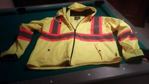 NEW JACKET - fluorescent workwear