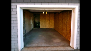 Garage pour stationnement ou entreposage