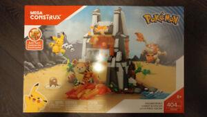 4 Brand New Pokemom Mega Construx / Mega Bloks Playsets