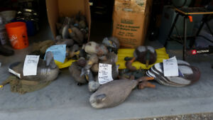 Duck and Geese Decoys