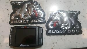 Bully Dog programmer for diesel pickup