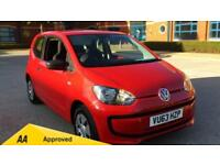 2013 Volkswagen UP 1.0 Take Up 3dr Manual Petrol Hatchback