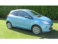 2011 Ford KA 1.2 Zetec 3dr [Start Stop] HATCHBACK Petrol Manual