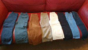 Toddler size 4T pants $5 each or $30 takes all 8!!