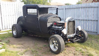 1929 hotrod steel body 3 inch chop
