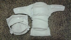 Cloth diapers inserts 100% cotton