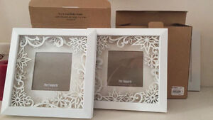 Pier 1 Imports Snowflake picture frame