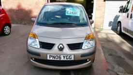 RENAULT MODUS 1.4 PRIVILEGE LOW MILES MET GOLD V/CLEAN AND ECONOMICAL 2006 06