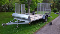 2010 Blackhawk 6'x13' Galvanized Trailer