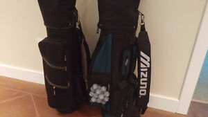 Men and woman golf clubs sets