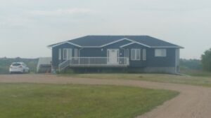 New Home and Acreage Overlooking Lumsden, 12 minutes from Regina