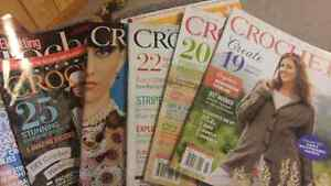 13 crochet magazines. 15 for lot. Prince George British Columbia image 2