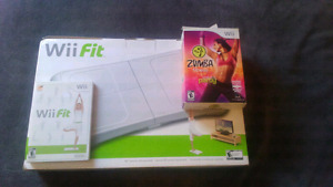 Wii fit  with Zumba
