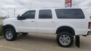 2005 Eddie Bauer Edition Ford Excusion bullet proofed