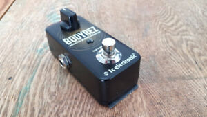 TC Electronic Bodyrez and Ibanez SC10 Stereo  Chrous pedals