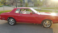 1975 mustang in mint condition 8 cyl, 3 speed auto