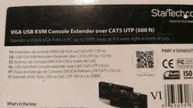 Startech VGA USB KVM console extender over Cat5 UTP- 500ft