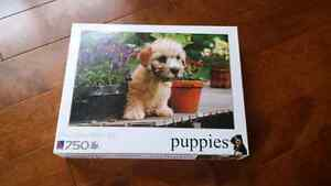 Lot of 5 Puzzles: Puppies, Hot Air Balloons and Landmarks Peterborough Peterborough Area image 2