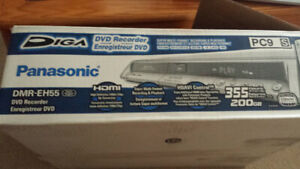 Panasonic DMR-EH55 200GB HDD DVD Recorder ( Top Of The Line)