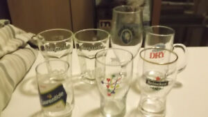 8 verres de bière et  1 Bock