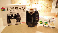 **********TASSIMO T46, used, comes with leftover t discs*****