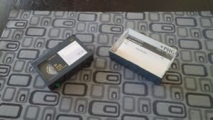 VHS-C Recording Tapes for Panasonic Palmcorder IQ