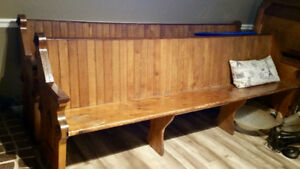 8 Foot Church Pew