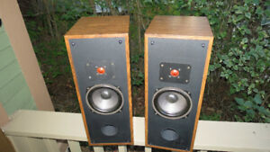 Vintage Rega 3 Two Way Speakers Made In CANADA