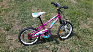 "Mountain Bike -16"" Girl's Supercycle Valley Kid"
