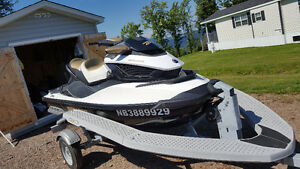 2012 Sea Doo GTX S 155, I-Catch Karavan Trailer and Cover