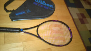 Wilson and Prince Tennis Racquets