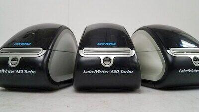 One Dymo Labelwriter 450 Turbo Label Thermal Printer Model 1750283