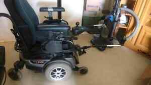 Electric wheelchair jazzy