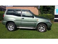 Nissan Terrano 2.7TD SE 12 Months mot Spares or repair.