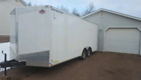 We will rent out enclosed trailer