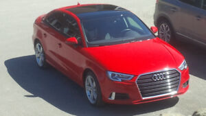 AUDI A3 2017 Komfort  rouge Impeccable!