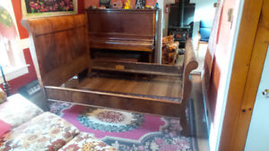 Antique Sleigh Bed for Sale