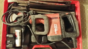 Hilti TE 505 Hammer Scrapper Drill  The Best