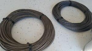 3/8 steel cable, zip line, fencing